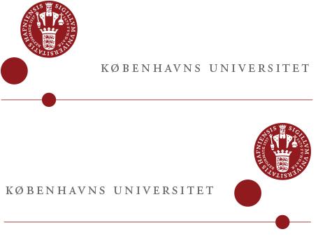 Logoplacering – Københavns Universitet